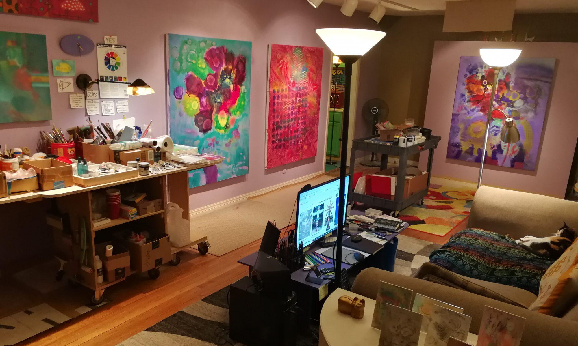 Rob Terrell Artist Blog